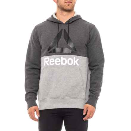 Reebok Boost Pullover Hoodie (For Men) in Charcoal Heather - Closeouts
