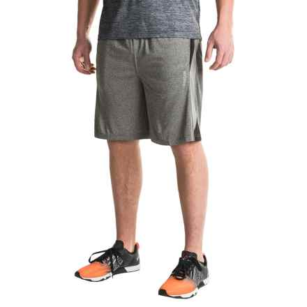 Reebok Borg Shorts (For Men) in Charcoal Heather - Closeouts