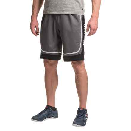 "Reebok Burpee 10.5"" Shorts (For Men) in Magnet - Closeouts"