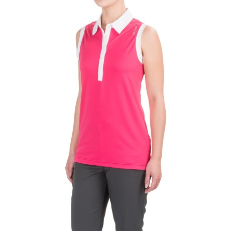 Reebok Classic Polo Tank Top (For Women) in Cabaret