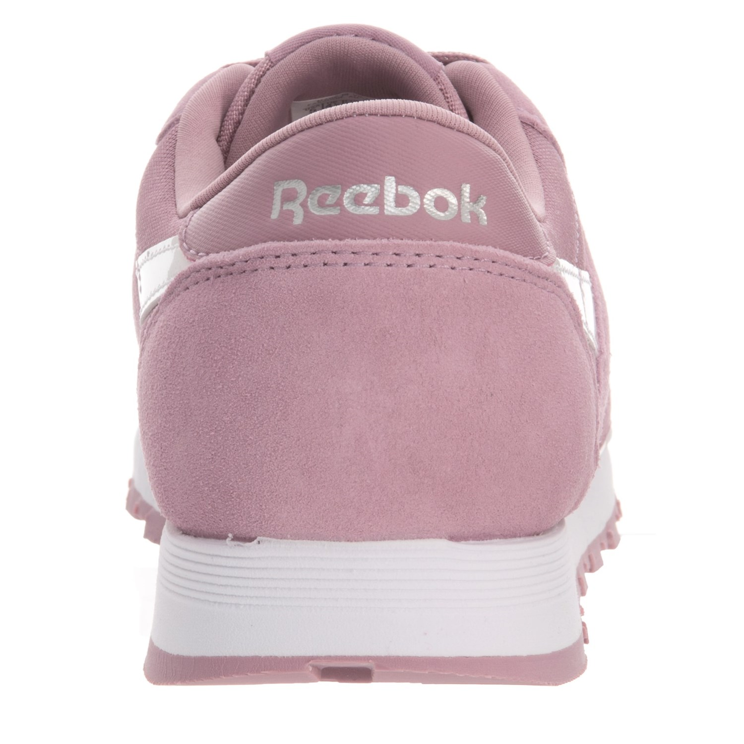 Reebok Classic Suede-Nylon Sneakers (For Big Girls) - Save 42% 499067159