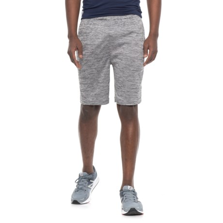 Reebok Cooldown Shorts - Slim Fit (For Men) in Charcoal Heather