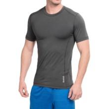 Reebok Core Compression Shirt - Short Sleeve (For Men) in Asphalt - Closeouts