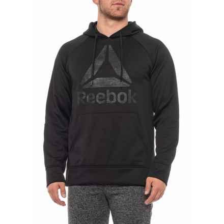 Reebok Core Delta 2.0 Hoodie (For Men) in Black - Closeouts