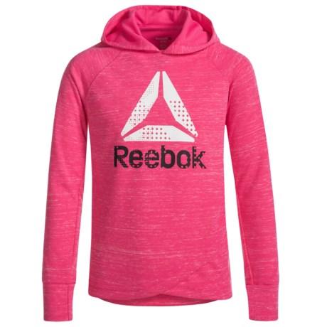 Reebok Crossbody Hoodie (For Little Girls) in Pink Glow
