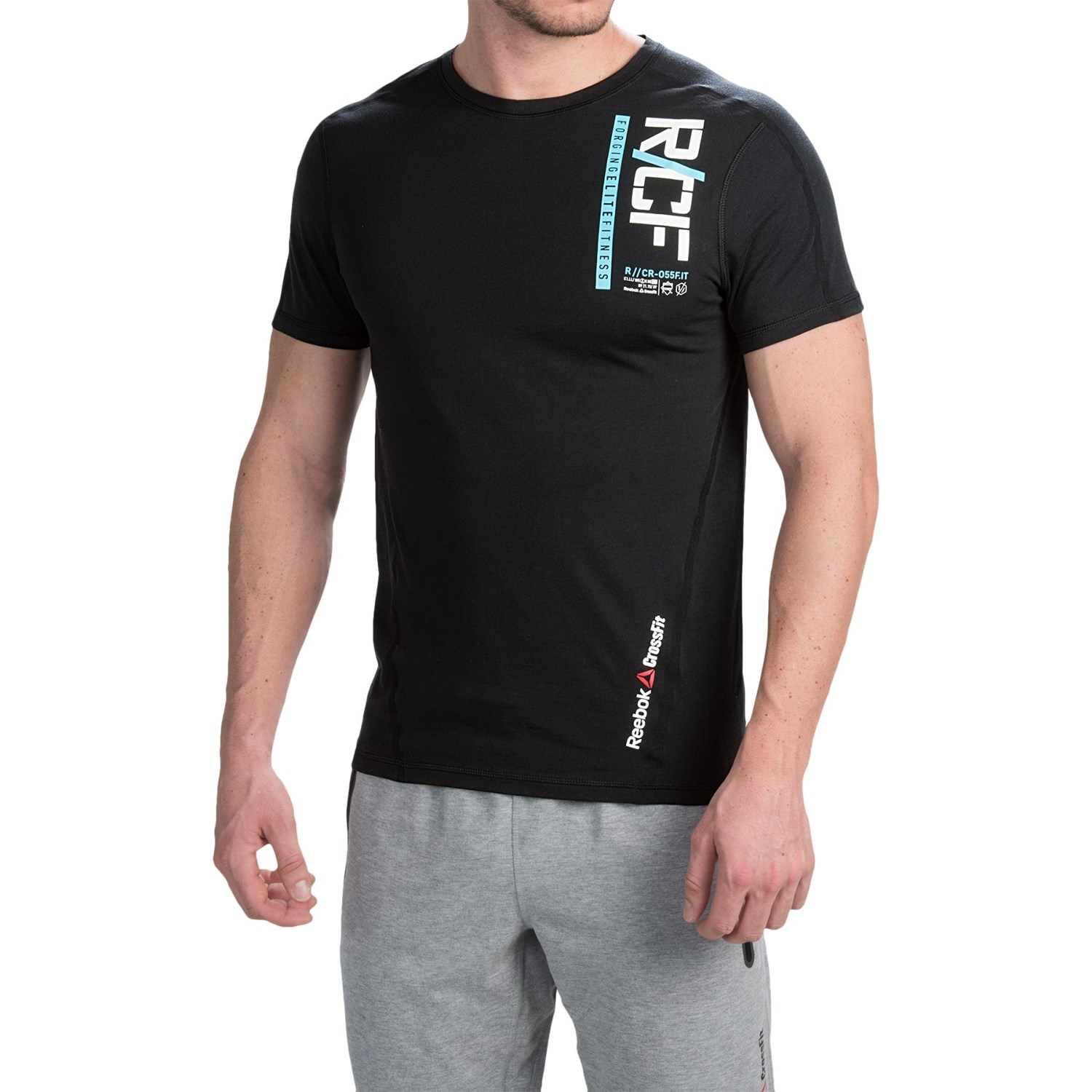 reebok crossfit graphic t shirt for men save 78. Black Bedroom Furniture Sets. Home Design Ideas