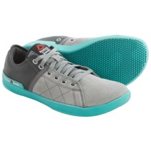 Reebok CrossFit® Lite Lo TR Shoes (For Men) in Flat Grey/Gravel/Neon Blue/Medium Grey - Closeouts