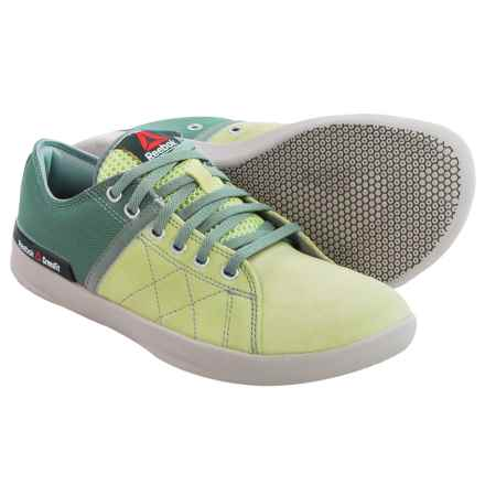 Reebok CrossFit® Lite Lo TR Shoes (For Women) in Citrus Glow/Silvery Green/Flat Grey/Steel - Closeouts