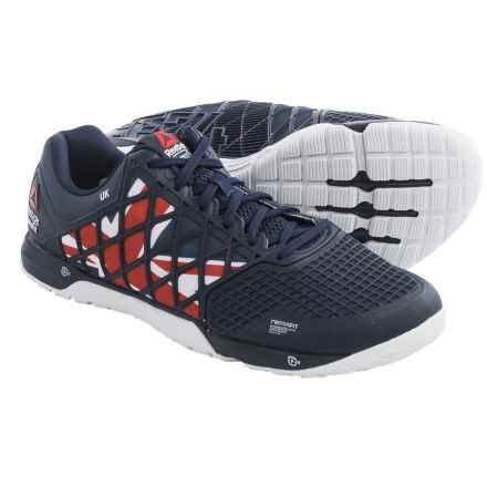 Reebok CrossFit Nano 4.0 Flagpax Shoes (For Men) in Uk-Cllg Navy/Excellent Red/White/Black - Closeouts