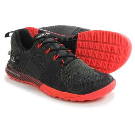 Reebok CrossFit® Nano Pump Fusion Cross-Training Shoes (For Women) in Black/Neon Cherry - Closeouts