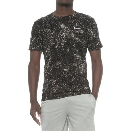 Reebok CrossFit® Woven Label T-Shirt - Short Sleeve (For Men) in Black