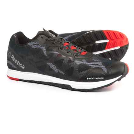 Reebok Crosstrain Sprint 3.0 Training Shoes (For Men) in Stealth Black/White/Riot - Closeouts