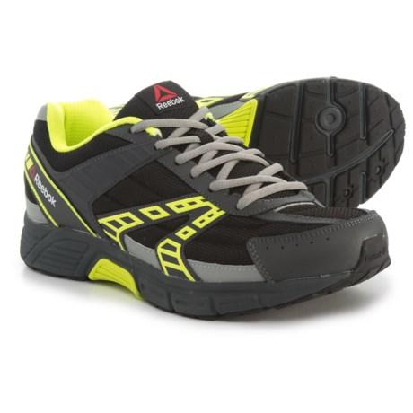 Reebok Cruiser 4E Running Shoes (For Men) in Black/Solar Yellow