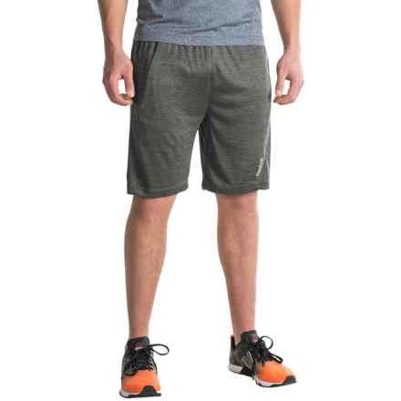 Reebok Cruz Gym Shorts (For Men) in Charcoal Heather - Closeouts