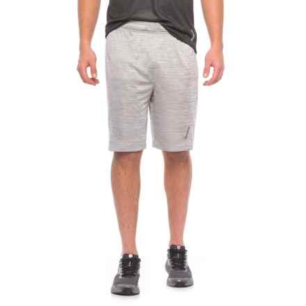 Reebok Cruz Shorts - Slim Fit (For Men) in Grey Heather - Closeouts