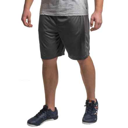 "Reebok Dadson 8.5"" Shorts (For Men) in Black Heather - Closeouts"