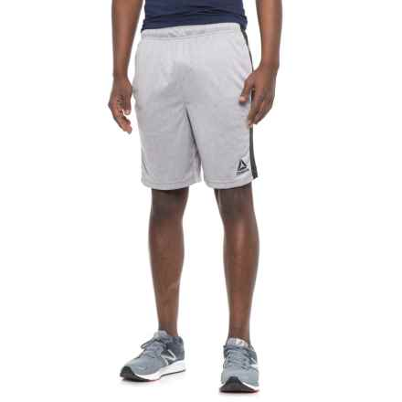 Reebok Dadson Shorts - Slim Fit (For Men) in Grey Heather - Closeouts