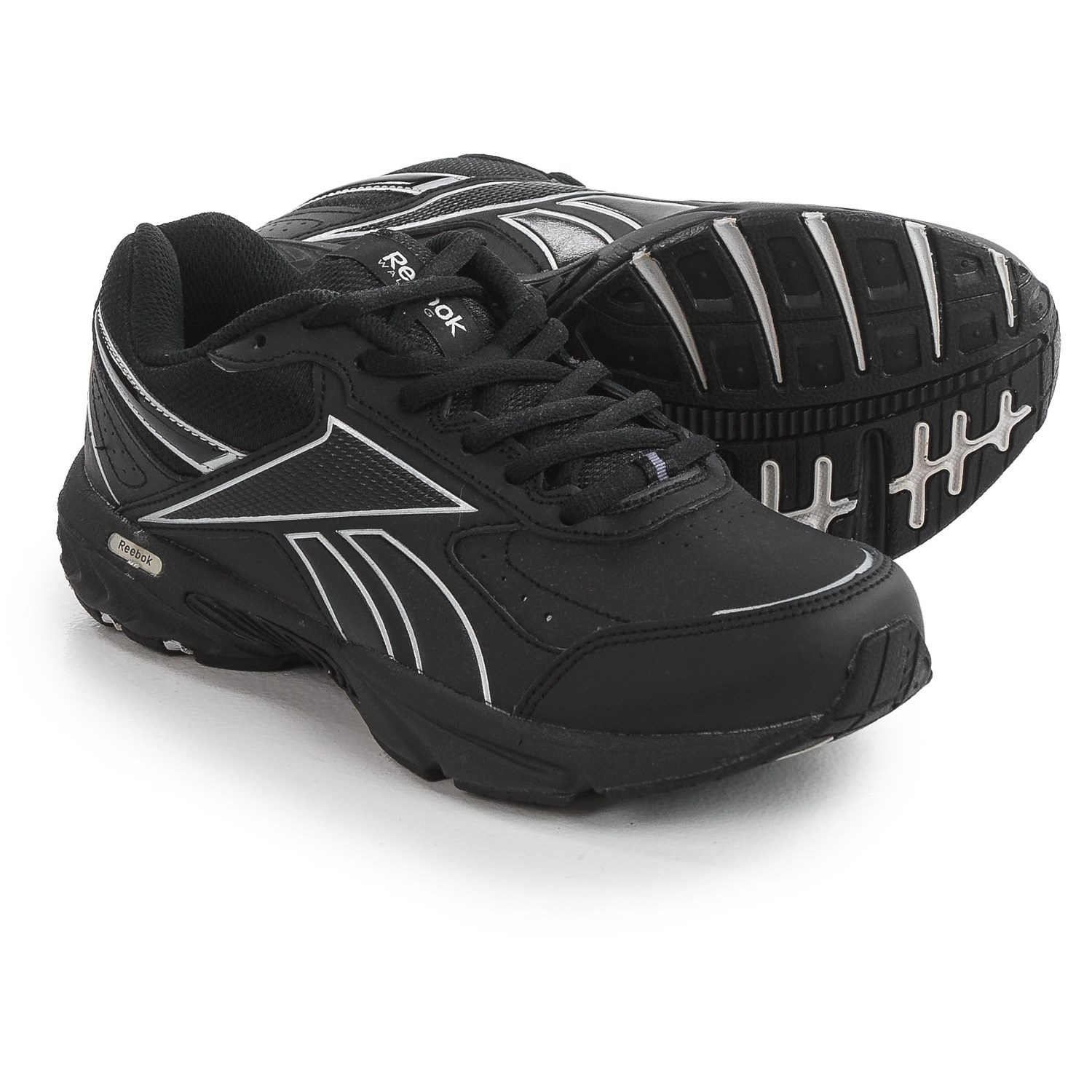 Buy reebok black leather shoes   OFF76% Discounted c2fd94452