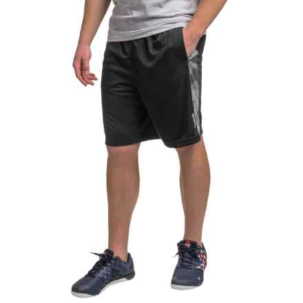 "Reebok Dalek 9"" Shorts (For Men) in Black - Closeouts"