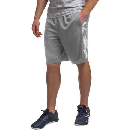 "Reebok Dalek 9"" Shorts (For Men) in Light Ash - Closeouts"