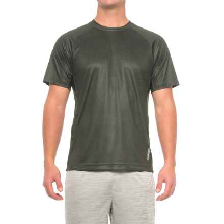 Reebok Defender Shirt - Short Sleeve (For Men) in Black - Closeouts