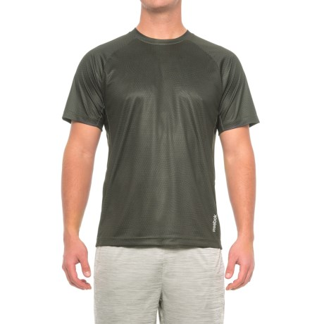 Reebok Defender Shirt - Short Sleeve (For Men) in Black