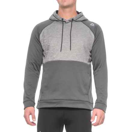 Reebok Distance 2.0 Solid Hoodie (For Men) in Magnet - Closeouts
