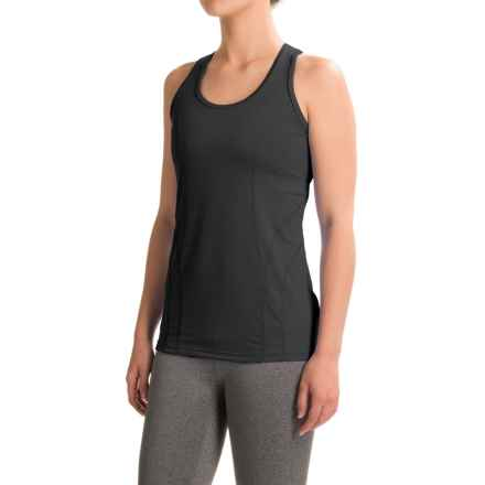 Reebok Dynamic Tank Top - Racerback (For Women) in Black - Closeouts