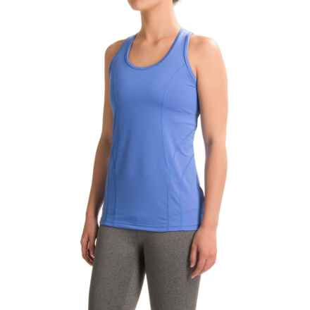 Reebok Dynamic Tank Top - Racerback (For Women) in Palace Blue - Closeouts