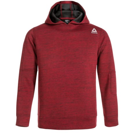 Reebok Elbow Patch Hoodie (For Boys) in Chilli Pepper