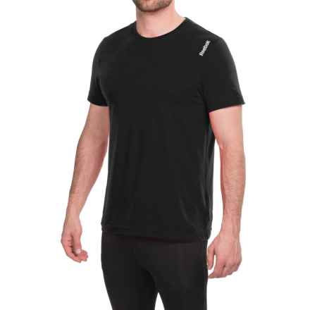 Reebok Elements Classic T-Shirt - Short Sleeve (For Men) in Black - Closeouts