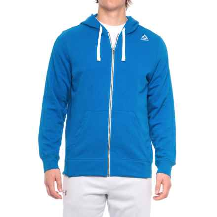 Reebok Elements French Terry Hoodie (For Men) in Awesom - Closeouts