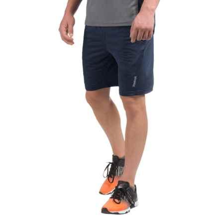 Reebok Fireball Slim Training Shorts (For Men) in Navy Heather - Closeouts