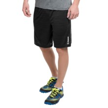 Reebok Fireball Space-Dye Shorts (For Men) in Black Heather - Closeouts