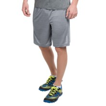Reebok Fireball Space-Dye Shorts (For Men) in Grey Heather - Closeouts