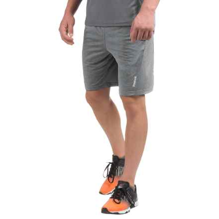 Reebok Fireball Training Shorts (For Men) in Grey Heather - Closeouts