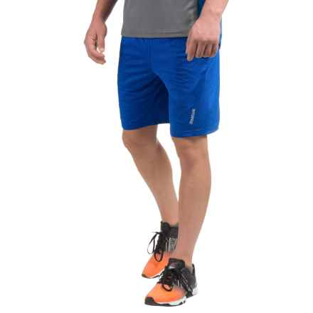 Reebok Fireball Training Shorts (For Men) in Royal Heather - Closeouts
