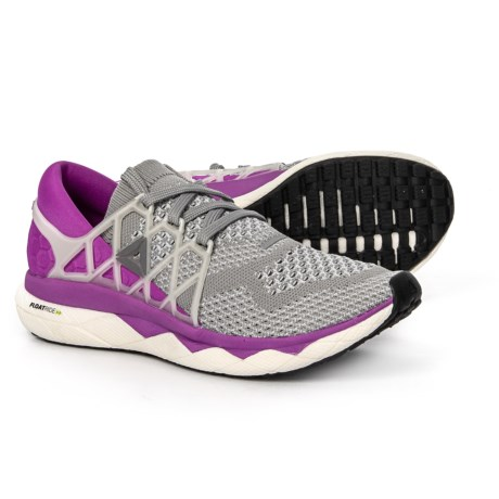 Reebok Floatride Run Ultraknit Running Shoes (For Women) in Light Solid Grey  Mgh dffb65fed