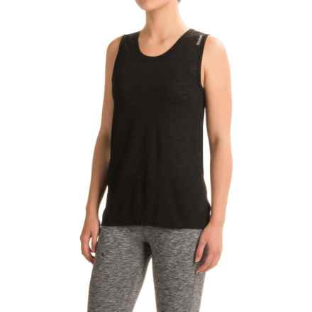 Reebok Freedom Flyaway Tank Top (For Women) in Black - Closeouts