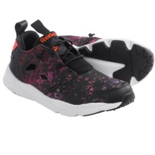 Reebok Furylite Sheer Cross-Training Shoes (For Women) in Black/Poppy Red/Night Violet/White - Closeouts
