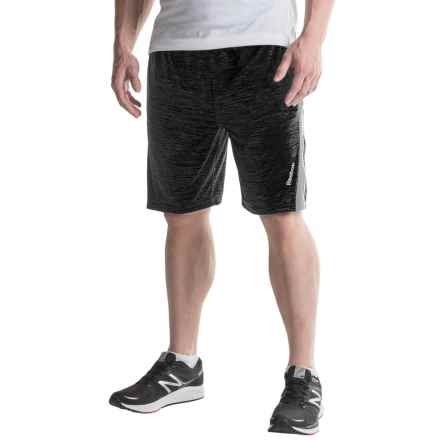 Reebok Fusion Shorts (For Men) in Black Heather - Closeouts