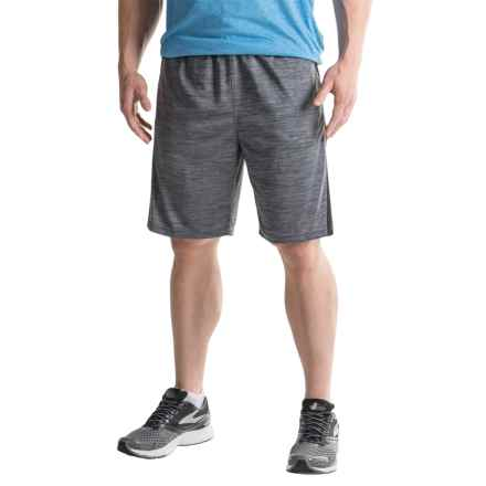 Reebok Fusion Shorts (For Men) in Charcoal Heather - Closeouts