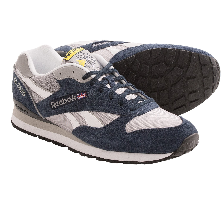 Reebok GL 2620 Sneakers (For Men) in Reebok Navy/Tin Grey/White