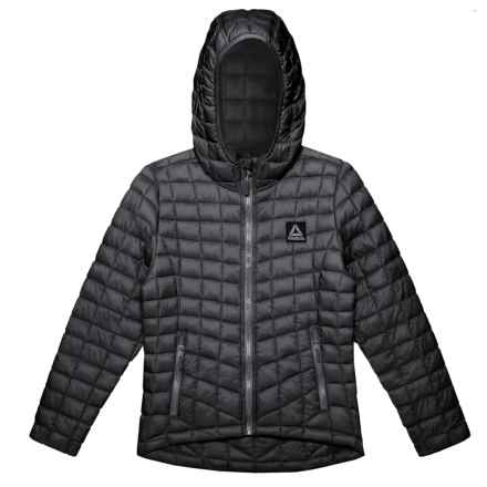 Reebok Glacier Shield Packable Jacket - Insulated (For Big Girls) in Black - Closeouts