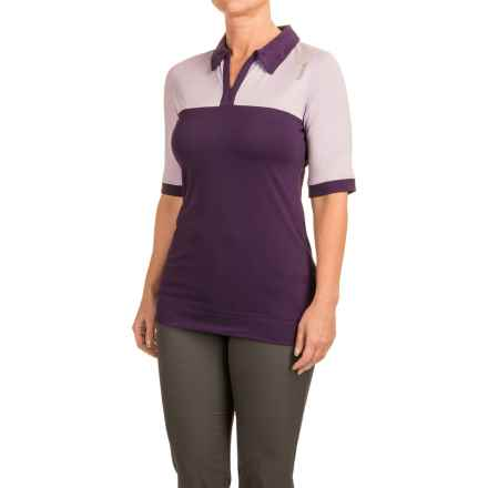 Reebok Golf Polo Shirt - Short Sleeve (For Women) in Blackberry Cordial - Closeouts