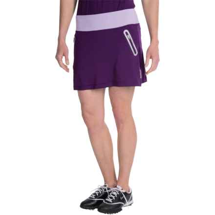 Reebok Golf Skort - Built-In Shorts (For Women) in Blackberry Cordial - Closeouts