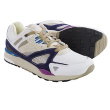 Reebok GS Ventilator II Running Shoes (For Men) in White/Wicked Blue/Desert Khaki - Closeouts