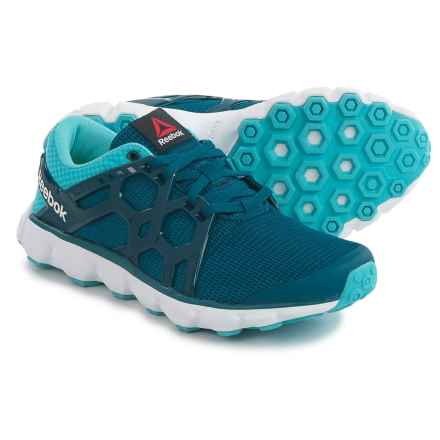 Reebok Hexaffect Run 4.0 MTM Running Shoes (For Women) in Noble Blue/Crisp Blue - Closeouts