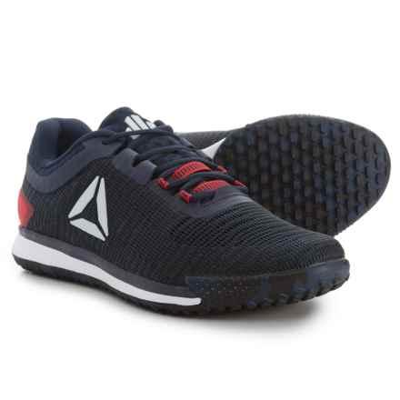 Reebok JJ Watt II Low Training Shoes (For Men) in Collegiate Navy/Primal Red/Cobalt - Closeouts