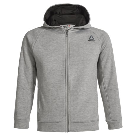 Reebok Layer-Up Jacket (For Little Boys) in White Heather Grey